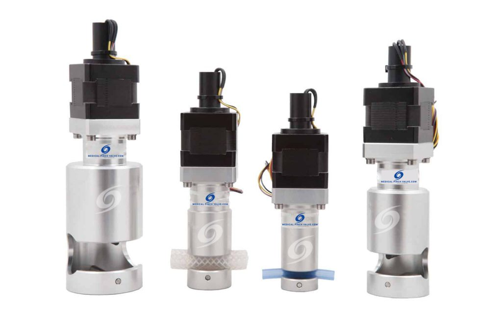 Medical Pinch Valves - High performance valves that provide full fluid separation and unparalleled flow metering
